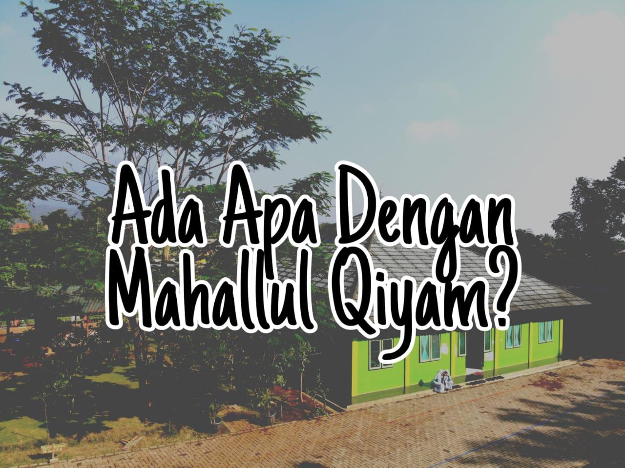 Ada Apa Dengan Mahallul Qiyam?